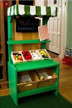 DIY Play Market Stall