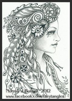 Zentangle - Doodles (By Norma Burnell 2012)