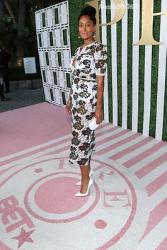 WM- Tracee Ellis Ross 2015 BET Awards - Debra Lee Pre-Dinner