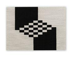 """LeveL"" Wood, rope, and cotton piece by Brooklyn-based mixed-media artist Senem Oezdogan. #UpriseArt"