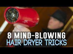 8 manières astucieuses d'utiliser autrement votre sèche-cheveux - Astuces de grand mère