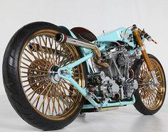 Thunderbike. Germany.  REVTECH PERFORMANCE CLASS: 2013 Custom Chrome Europe Bike Show
