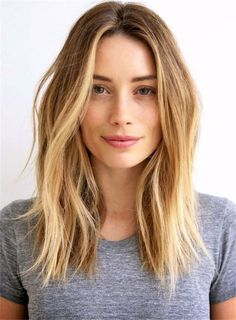 Middle Part Loose Straight Women's Hairstyle Lace Front Human Hair Wigs 16 Inches