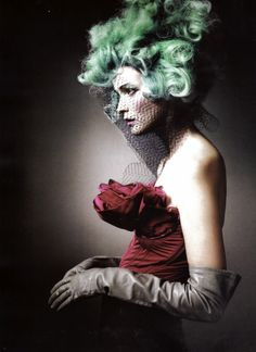 Nina Ricci shot by Steven Meisel