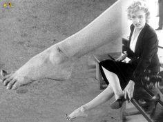 """Marilyn sufrió con los zapatos durante el rodaje de """"Niagara"""""""