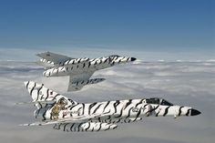 Snow tigers. Dassault Super Etendards Discovery Channel Wings Documentary - The Falkland Surprise 001