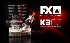 650100 FX K3 DC - 3 Ports, DLC, Ceramic bearings  All the finest engineering and craftsmanship has gone into the concept, design, creation, and finishing of FX Engines. This engine and all of its parts were designed and manufactured by FX in-house in Slovakia, Europe from the finest European materials and using the most advanced Swiss, German, and Italian technologies. Even the crankcase was die cast in-house using fully-robotic die-casting technology.