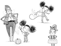 Nice black and white work  by Amelia Loveheart