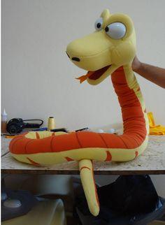 Snake Puppet Brunokids Puppets