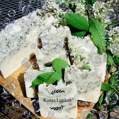 Chokecherry soap / Ievas ziedu ziepes Ylang Ylang Flower, Green Clay, Flower Oil, Prunus, Dried Flowers, Coconut Oil, Soap, Fresh, Nursing Care