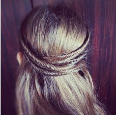 four fishtail braids
