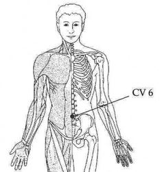 Sea of Energy Point w/ article - 2 finger widths below center of belly button