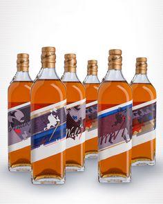 2012 World Whiskies Design Awards. Best Range of Products: Johnnie Walker Director's Blend