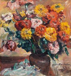 Zinnien (1924), by Lovis Corinth (1858-1925).