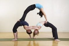 3 person acro moves - Google Search