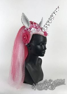 Pink Unicorn Headdre