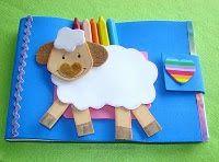 Que les parece si hacemos un lindo cuaderno de dibujos para regalar a nuestras ovejitas? Usted va a necesitar de un cuaderno de dibujos, fom...
