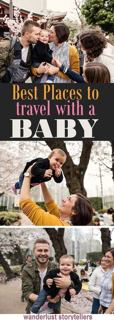 17 of the best places to travel with a baby on your family vacation! //////////////////////////////////////// Where to Travel with a Baby | Baby Travel Destinations | Holiday with Baby Ideas | Family Vacation Destinations #TravelDestinationsUsaFamilyVacations #familyvacationwithbaby #familyvacationdestinations #vacationdestinations #familyvacationspots #familytraveldestinations