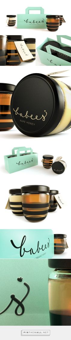 Babees Honey Packaging by Ah&Oh Studio on Behance