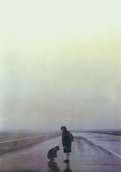 Landscape In The Mist Theo Angelopoulos) Landscape In The Mist, Abstract Landscape, Movie Shots, Film Inspiration, Cinema Film, Film Aesthetic, Film Serie, Film Stills, Great Movies