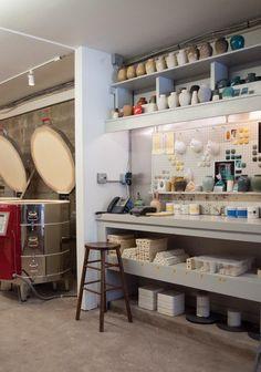 62 Trendy Home Studio Artist Atelier Studio Layout, Art Studio Design, Art Studio At Home, Studio Setup, Studio Ideas, Garage Art Studio, Pottery Workshop, Ceramic Workshop, Pottery Studio