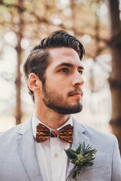 Love the hair & wooden tie | Image by The Portos