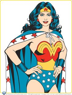 Warner Bros. Consumer Products (WBCP) DC Comics Licensing Artwork (2010) – Wonder Woman Pop Culture SS110 | ExperienceTheWonder.com
