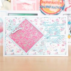 Essentials by Tattered Lace Tuck Ins Butterflies - 2 Pieces (145777) | Create and Craft