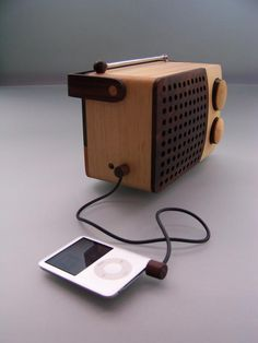 Her you can actually get the Wooden Radio.... and we would love to deliver it to you!