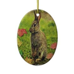 rabbit  christmas tree ornaments  £11.05 THESE DESIGNS COME IN MANY DIFFERENT STYLES PRODUCTS & COLORS OF APPAREL ALSO