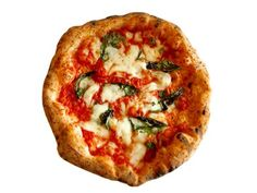 Margherita From Kesté Pizza & Vino: New York City : It's hard for a new pizzeria to stand out in New York City, but when Kesté opened in Pizza Recipes, Sauce Recipes, Pizza Vino, Pizza Food Truck, Buffalo Mozzarella, Flatbread Pizza, Good Pizza, 50 States, Perfect Food