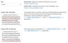 KeyCDN - 4 simple steps to integrate your SSL certificate.