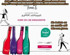 Somente Hoje 09/07. Natura Humor Feminino de R$ 94,80 por R$ 66,00 Aproveite, no boleto ou no cartão até 06x sem juros. Acesse >> http://rede.natura.net/espaco/ljpurocharmebauru/nossos-produtos/promocao-do-dia-cat780001?_requestid=1221324 Fanpage >>  https://www.facebook.com/ljpurocharmebaurunaturaonline