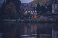 Glamping, Safari, Open Air, Tent, Germany, Culture, River, Heritage Site, Rhineland Palatinate