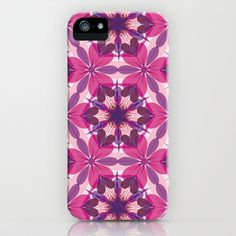 Pink Kaleidoscope iPhone Case by patterndesign - $35.00