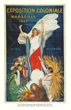 Vintage French COLONY FARMER Advertising print by FolieduJour