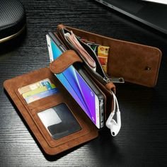 CaseMe-PU-Leather-Multi-Functional-Wallet-Case-Cover-For-Samsung-Galaxy-Note-5