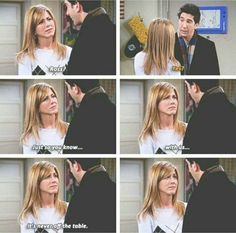 Rachel and ross were so sweet. Hes Her Lobster, Ross And Rachel, Long Stories, Tv Quotes, Film Music Books, Friends Tv Show, Jennifer Aniston, Girlfriends, Tv Shows