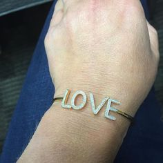 Show some LOVE! SHOP NOW at www.jenkdesignsny.com #bangle #diamond #love #jenk #instaday #inthemood to post! @alex_feder