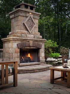 Semplice Outdoor Fireplace Kits Installed Outdoors Pinterest