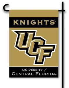University of Central Florida Garden Flag 2 Sided UCF Logo
