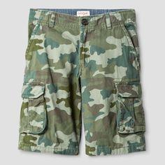 Boys' Cargo Shorts - Cat & Jack Picnic Green 16