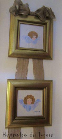 PL11- Pintura em duplo quadro- anjos