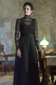 #pennydreadful love this dress for Elisabeth in The Gate Trilogy gothic vintage dress