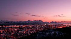 Mal ein anderes magisches Licht bei Bodø in Nordnorwegen - Foto: Gaute Frøystein