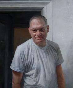 "Portrait Of My Father, Steven I. Kassan"" 32"" x 25"" / oil on panel / 2010"