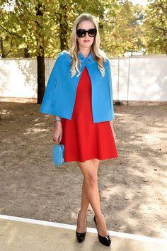 Nicky Hilton Photos: Arrivals at Valentino