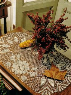 Crochet Doily Ecru Oval Crocheted Table Center by CrochetMiracles, $54.50