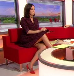 Sally Nugent pictures and photos Beautiful Legs, Gorgeous Women, Babestation Models, Sexy Older Women, Sexy Women, Sexy Outfits, Megan Good, Female News Anchors, School Uniform Outfits