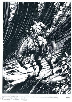 Barry Windsor-Smith's Conan